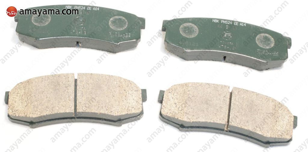 Toyota 0446660080 - BRAKE PADS, SET