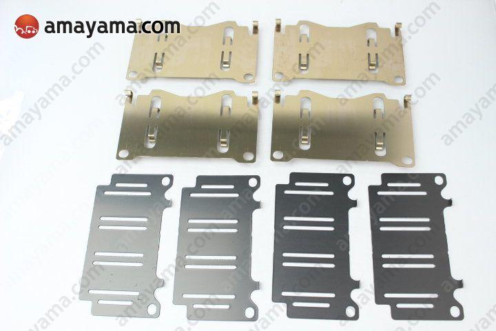 Toyota 0494560010 - Набор торм.пластин