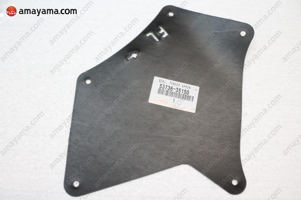 Toyota 5373635150 - COVER, RUBBER