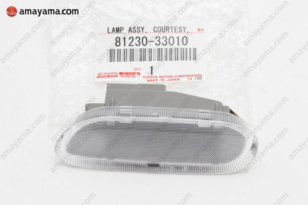 81230-06040 Courtesy Genuine Toyota Parts Lamp Assy