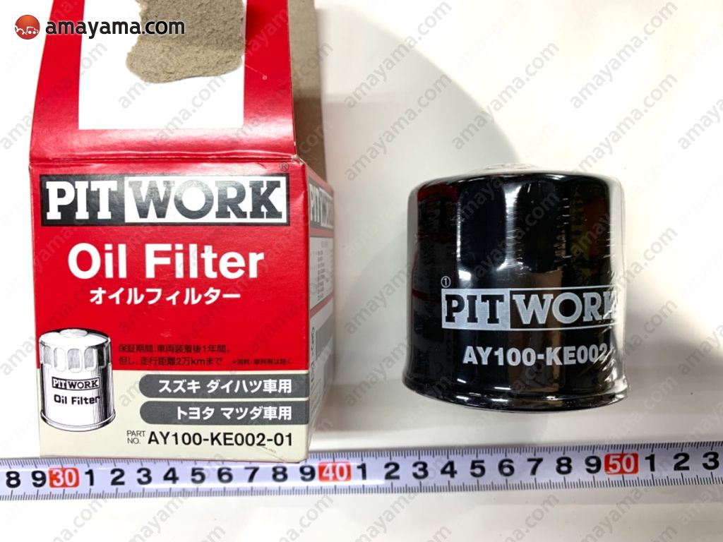 AY100KE00201 ASAKASHI OIL FILTER K3 VE K10A F6A K6A