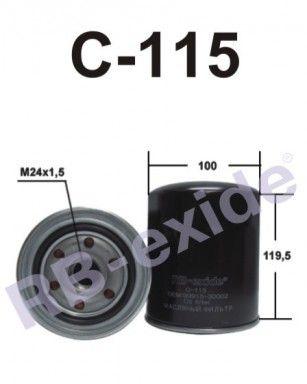 RB-exide C115 - Фильтр масляный