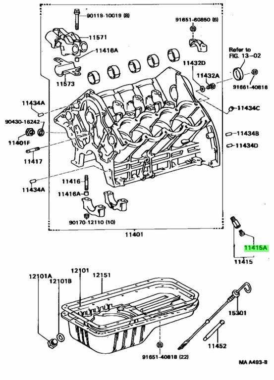 Genuine Toyota 9643223814 - PLUG, RADIATOR DRAIN COCK;PLUG, WATER DRAIN COCK (FOR CYLINDER BLOCK);PLUG, WATER DRAIN COCK(FOR WATER BY-PASS JOINT)