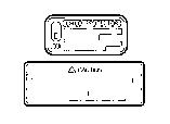 CAUTION PLATE (EXTERIOR & INTERIOR)