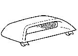 Центральный фонарь тормоза