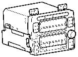 Радио и магнитофон