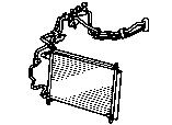 Система обогрева и кондиционирования -трубопровод кондиционера