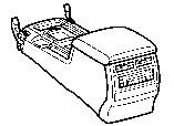 CONSOLE BOX & BRACKET