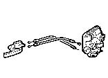 REAR DOOR LOCK & HANDLE