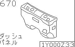 Dash Panel & Fitting (Body)