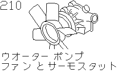 Water Pump & Cooling Fan & Thermostat (Engine)