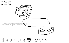 Oil Filler Duct
