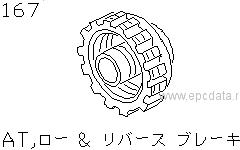 At, Low & Reverse Brake