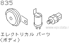 Electrical Parts (Body)