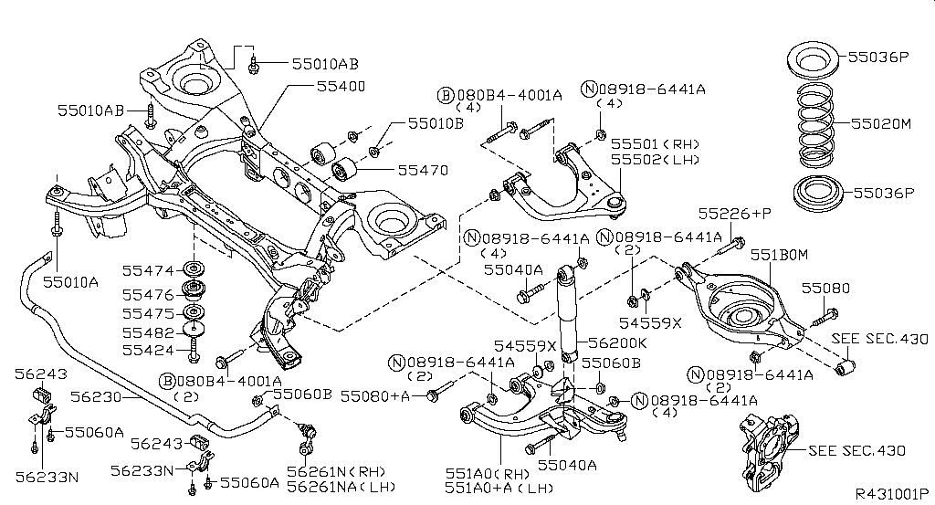 Rear Suspension (Chassis)