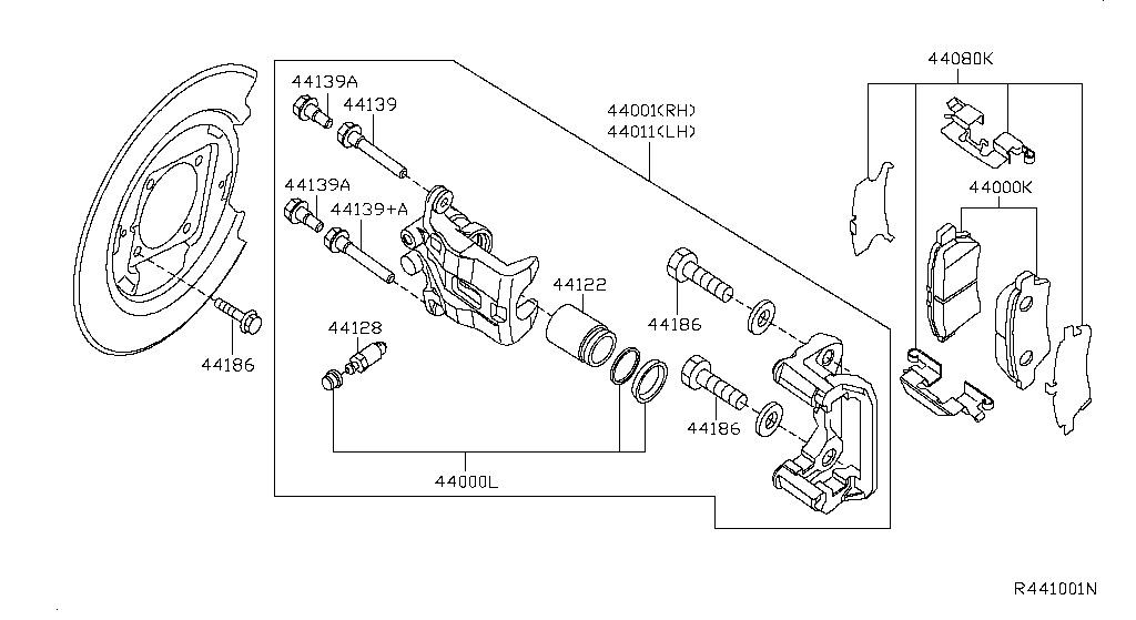 Rear Brake (Chassis)