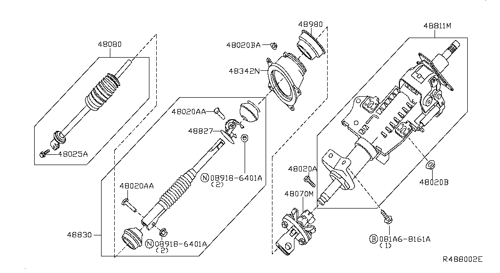 Steering Column (Chassis)